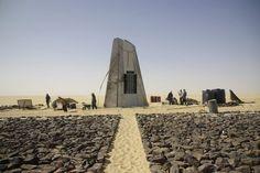 the satellite memorial of UTA flight 772