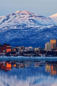 The Best Vacation Spots In Every U. State: Anchorage wouldn't be my first pick, but this picture is AMAZING! Best Us Vacations, Top Vacation Destinations, Vacation Images, Beautiful Vacation Spots, Family Vacation Spots, Couples Vacation, Beautiful Places, Vacation Ideas, Family Travel