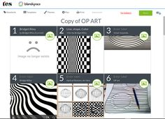 OP ART BLENDSPACE