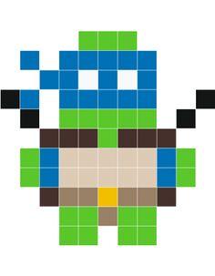 Turtle-man Leonardo Wall Decals :: Stickaz