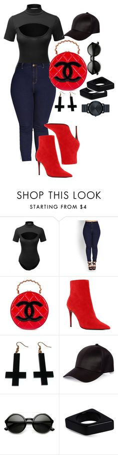 """""""Untitled #92"""" by operationvogue ❤ liked on Polyvore featuring LE3NO, Forever 21, Chanel, ALDO, Chicnova Fashion, River Island, Marni and Movado"""