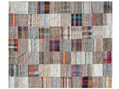 Tapete patchwork de lã DELPHINE - ROCHE BOBOIS