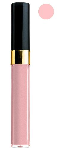 Chanel Levres Scintillantes Glossimer Mica No. 131. This color looks great on everyone!!