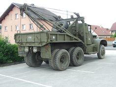 Diamond-T 969A 4 ton, 6x6 Wrecker