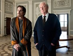 Christian Bale as Bruce Wayne and Batman and Michael Caine as Alfred inside the millionaire's 'Wayne Manor' for the the film Batman Begins in 2005 Batman The Dark Knight, The Dark Knight Trilogy, The Dark Knight Rises, Batman Dark, Christopher Nolan, Spiderman, Batman And Superman, Gotham City, Justice League