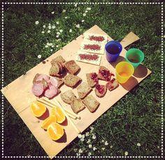 Picknicken met de kinderen op een schoolvrije middag