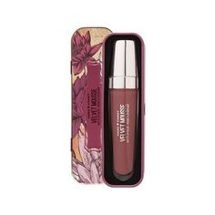 Hard Candy Velvet Mousse Matte Lip Color Tin, 1218 Spider Orchid ($4.99) ❤ liked on Polyvore featuring beauty products, makeup, lip makeup, hard candy makeup, mousse makeup, hard candy and hard candy cosmetics