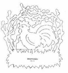 Velikonoční vystřihovánky do oken | Mimibazar.cz To Trace, Album, Paper Cutting, Stencils, Arabic Calligraphy, Paper Crafts, Embroidery, Pattern, Tattoo Ideas