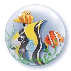 "24"" Double Bubble - Tropical Fish £4.45"