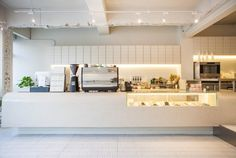 Home Decorators Hamilton Vanity Code: 7305385803 Bakery Interior, Cafe Interior Design, Cafe Design, Cafe Restaurant, Restaurant Design, Counter Design, Coffee Shop Design, Shop Interiors, Bingsu