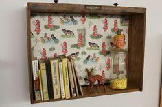Regal Schublade von Nicole Park auf DaWanda.com