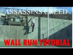Learn in real life how to run up a vertical wall, grab, climb up and over using this Assassins Creed parkour tutorial by Ronnie Shalvis. Parkour Workout, Kickboxing Workout, Parkour For Beginners, Aikido, Assassins Creed, Judo, Taekwondo, Tai Chi, Female Athletes