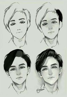 Face Drawing Drawing-Tutorial-for-Occasional-Artists - While there are tons of things out there to draw, it is not simple always. However, these Drawing Tutorial for Occasional Artists will help you out. Digital Painting Tutorials, Digital Art Tutorial, Art Tutorials, Digital Paintings, Art Sketches, Art Drawings, Art Du Croquis, Drawing Hair Tutorial, Face Drawing Tutorials