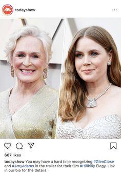 Glenn Close, 101 Dalmatians, Amy Adams, Hillbilly, Today Show, Actresses, Film, Female Actresses, Movie