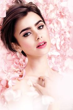 Lily Collins for Lancôme - Poudre Collection (2016).