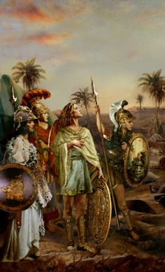 Legendary Women of Antiquity; Zenobia, Helen of Troy & Cleopatra: Paintings of Ancient History & articles by Howard David Johnson; Great Women of Ancient Greek, Roman & Middle Eastern History