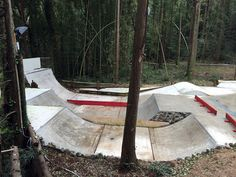 Spot in the World — Yume Farm in Narita, Japan Scooter Ramps, Bmx Ramps, Skateboard Ramps, Backyard Skatepark, Backyard Landscaping, Backyard Ideas, Skate Ramp, Shitzu Puppies, New Homes