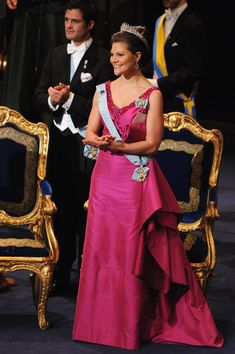 Princess Victoria Crown Princess Victoria of Sweden attends the Nobel Foundation Prize 2008 Awards Ceremony