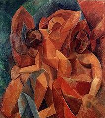 Pablo Picasso, 1908, Trois femmes (Three Women)