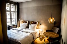 A Boutique Hotel in the Latin Quarter of Copenhagen - Design Milk