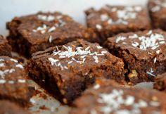 Super-Cacao & Maca Brownies