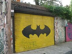 Garage, Batman, Door, Unique, Urban