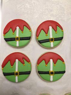 Christmas Sugar Cookies, Christmas Snacks, Christmas Cupcakes, Holiday Cookies, Christmas Candy, Christmas Baking, Iced Cookies, Cute Cookies, Royal Icing Cookies