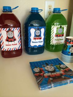 Thomas the Train Birthday Party Ideas | Photo 6 of 16