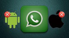 WhatsApp dejará de funcionar este mismo mes en los Androids y iPhones más antiguos.