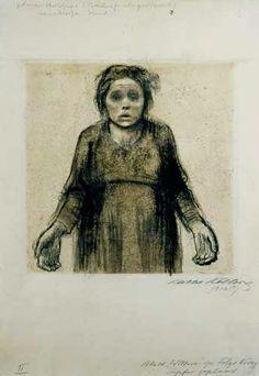 Käthe Kollwitz | Widow I, 1918 | Etching