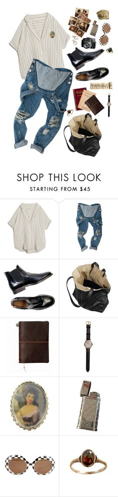 """photographs & music notes"" by aestheticautumn ❤ liked on Polyvore featuring MASSCOB, Proenza Schouler, Shinola and Vintage"