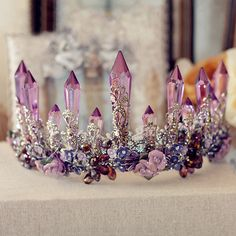 Baroque Amethyst Crown . . . for the process in me