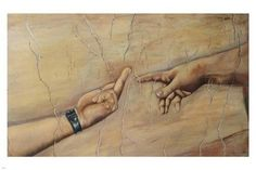 atheist version of michelangelo's THE CREATION OF ADAM poster 24X36 FUNNY Brand New. 24x36 inches. Will ship in a tube. - Multiple item purchases are combined the next day and get a discount for domes