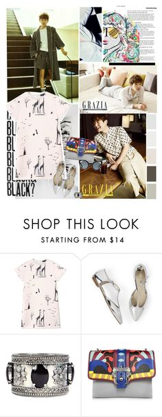 """Close Ur Mouth"" by karydkaulitz ❤ liked on Polyvore featuring Rochas, Boohoo, Paula Cademartori and Fendi"