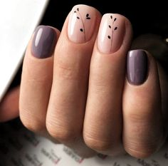 80 Awesome Minimalist Nail Art Ideas - You can find Toenails and more on our Awesome Minimalist Nail Art Ideas - Minimalist Nail Art, Cute Acrylic Nails, Cute Nails, Manicures, Gel Nails, Nail Nail, Manicure E Pedicure, Pretty Nail Art, Nagel Gel