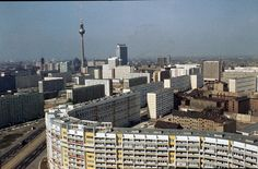 Berlin ca. 1970 vom Leninplatz Richtung Alexanderplatz