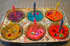 for preschoolers: Birthday Party Playdough