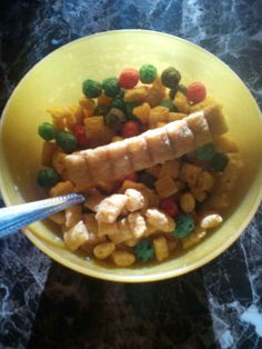 Whatever lottery winner got this epic bowl of Cap'n Crunch.