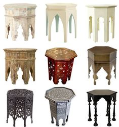 Moroccan-style table
