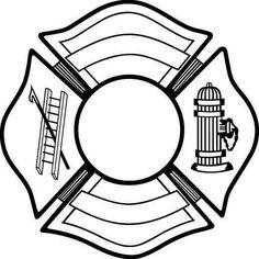 Firefighter Crest Decal
