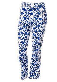 4fa15569717 Dana Buchman Floral Skinny Jeans - Women s