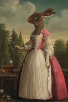 East Urban Home 'Charm No. 2 Attar of Knotgrass' by Stephen Mackey Painting Print on Wrapped Canvas Size: Dinosaur Wall Decals, Bird Wall Decals, Polka Dot Wall Decals, Animal Wall Decals, Removable Wall Decals, Painting Frames, Painting Prints, Art Paintings, Art Print