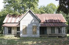 We had an opportunity to salvage this old house near Carthage, TX, and we elected not to.  I'll always regret it.