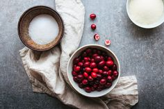 A CUP OF JO: Whipped Cranberry Porridge