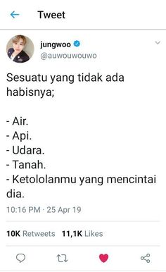 #wattpad #acak Bacotan Idol Di twitter pada rame bacot 🍑 EXO 🍑 BTS 🍑 NCT 🍑 GOT7 🍑 IKON Quotes Rindu, Quotes Lucu, Quotes Galau, Tumblr Quotes, Tweet Quotes, Mood Quotes, Life Quotes, Sarcasm Meme, Text Jokes