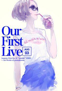 isopons First Live Pomodorosa #Pixiv Illustration