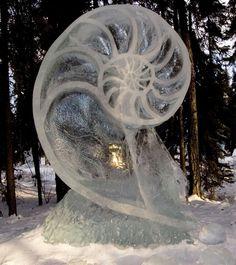 ice sculpture #beautiful