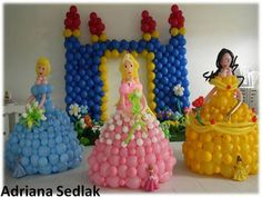 Princess Twist Balloons