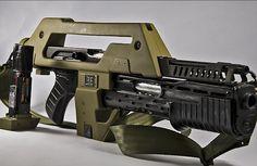 aliens 5 pulse rifle - Google Search