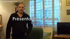 Regarder la vidéo «Je m'présente....sérieusement (pour une fois)» envoyée par Erick Bernard - matelesurlenet sur dailymotion.